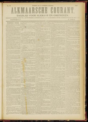 Alkmaarsche Courant 1919-04-03