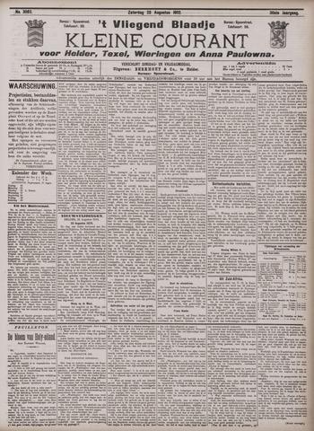 Vliegend blaadje : nieuws- en advertentiebode voor Den Helder 1902-08-23