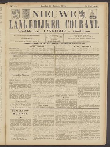 Nieuwe Langedijker Courant 1893-10-29