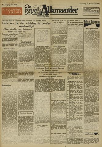 De Vrije Alkmaarder 1947-11-27