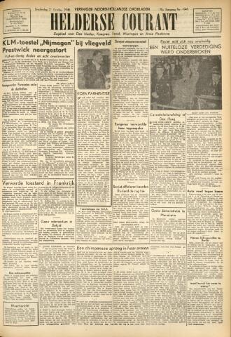 Heldersche Courant 1948-10-21