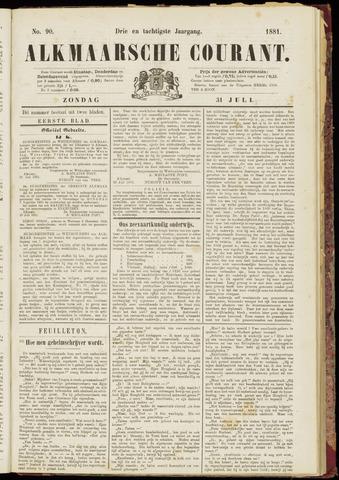 Alkmaarsche Courant 1881-07-31