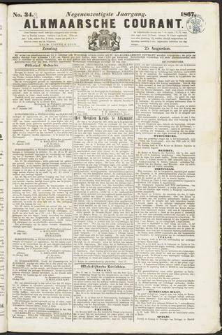 Alkmaarsche Courant 1867-08-25