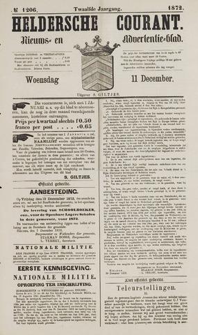 Heldersche Courant 1872-12-11
