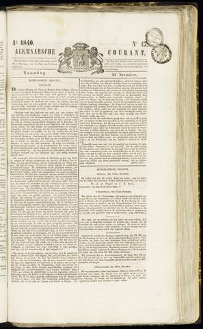 Alkmaarsche Courant 1840-11-23