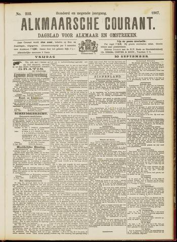 Alkmaarsche Courant 1907-09-20