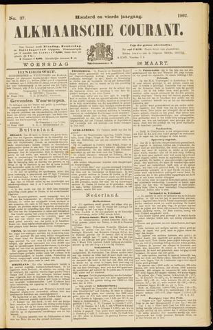 Alkmaarsche Courant 1902-03-26