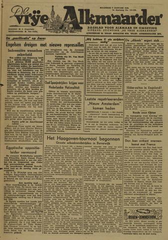 De Vrije Alkmaarder 1946-01-07