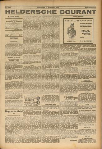 Heldersche Courant 1924-11-27