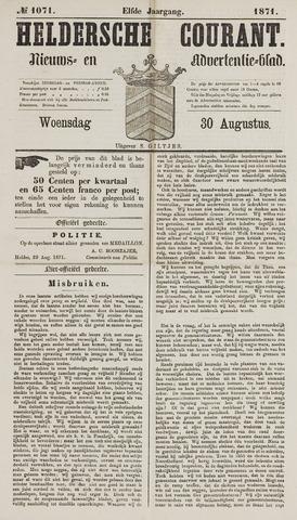 Heldersche Courant 1871-08-30