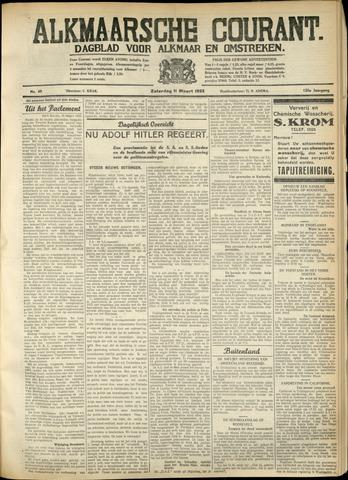 Alkmaarsche Courant 1933-03-11