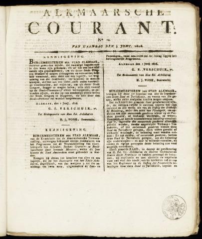 Alkmaarsche Courant 1816-06-03
