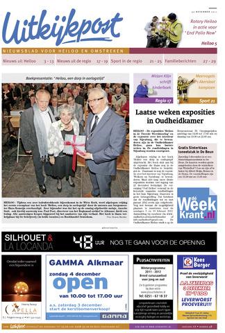 Uitkijkpost : nieuwsblad voor Heiloo e.o. 2011-11-30