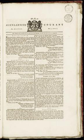 Alkmaarsche Courant 1831-04-04