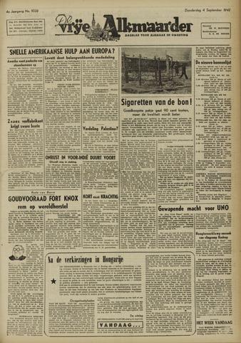 De Vrije Alkmaarder 1947-09-04