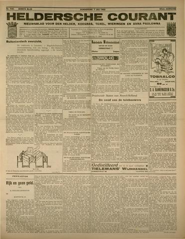 Heldersche Courant 1932-07-07