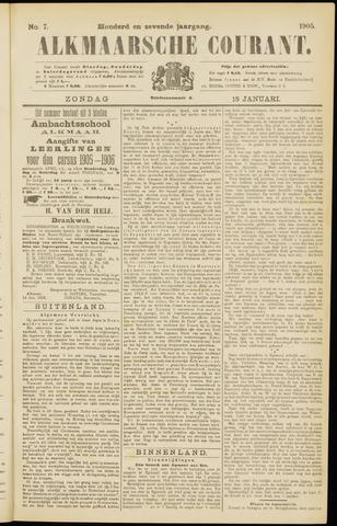 Alkmaarsche Courant 1905-01-15