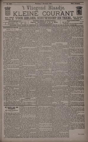Vliegend blaadje : nieuws- en advertentiebode voor Den Helder 1894-11-07