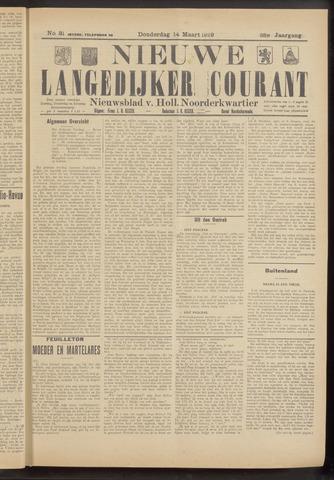 Nieuwe Langedijker Courant 1929-03-14