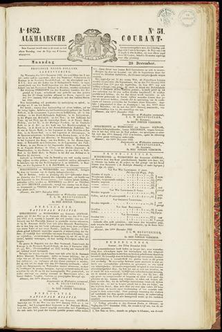 Alkmaarsche Courant 1852-12-20