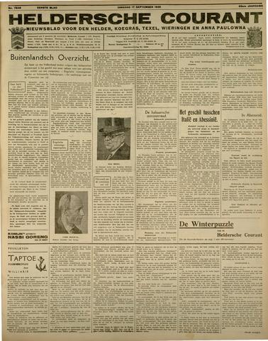Heldersche Courant 1935-09-17