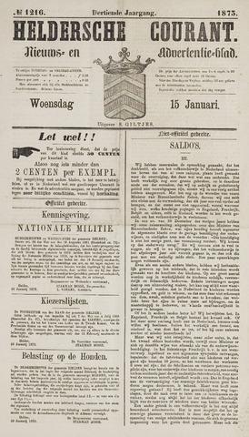Heldersche Courant 1873-01-15