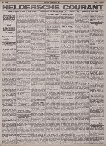Heldersche Courant 1917-10-30