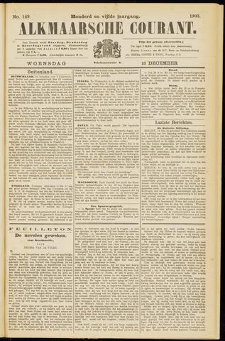 Alkmaarsche Courant 1903-12-16