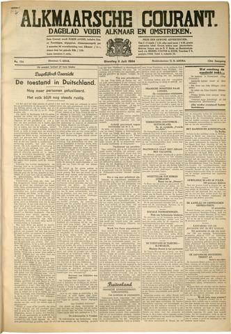 Alkmaarsche Courant 1934-07-03