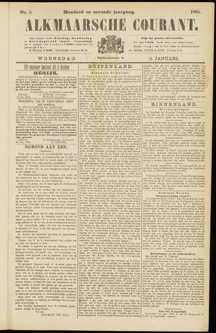 Alkmaarsche Courant 1905-01-11