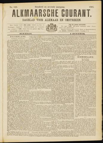 Alkmaarsche Courant 1905-10-03