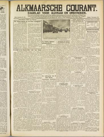 Alkmaarsche Courant 1941-11-07