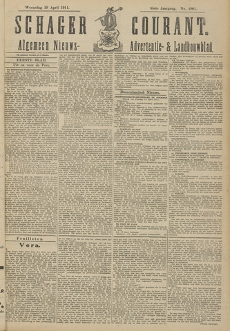 Schager Courant 1911-04-19