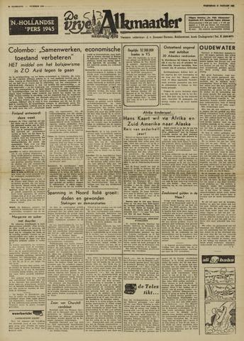 De Vrije Alkmaarder 1950-01-11