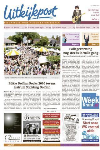 Uitkijkpost : nieuwsblad voor Heiloo e.o. 2010-04-21