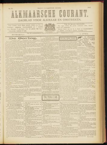 Alkmaarsche Courant 1917-04-05
