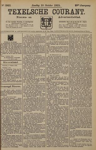 Texelsche Courant 1915-10-10