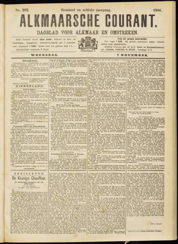 Alkmaarsche Courant 1906-11-07