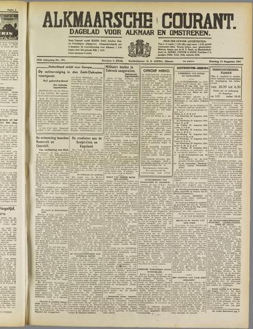 Alkmaarsche Courant 1941-08-19