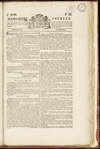 Alkmaarsche Courant 1849-08-06