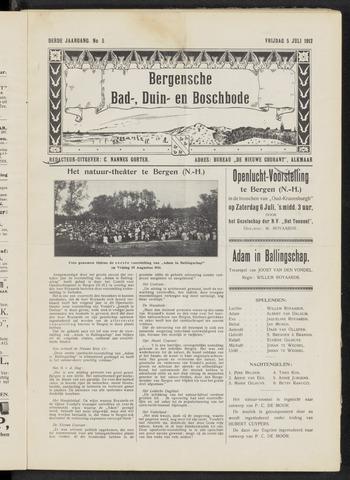 Bergensche bad-, duin- en boschbode 1912-07-05