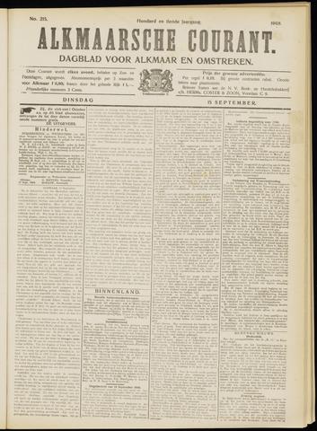 Alkmaarsche Courant 1908-09-15