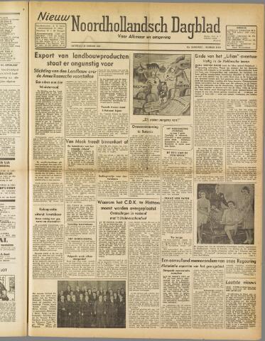 Nieuw Noordhollandsch Dagblad : voor Alkmaar en omgeving 1947-01-25