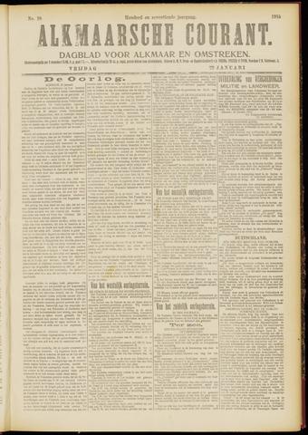 Alkmaarsche Courant 1915-01-22