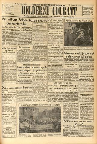 Heldersche Courant 1952-10-13