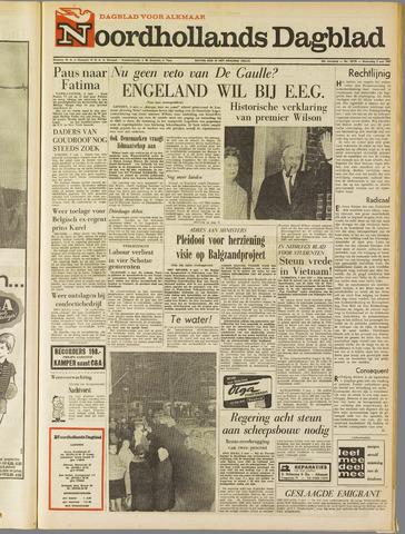 Noordhollands Dagblad : dagblad voor Alkmaar en omgeving 1967-05-03