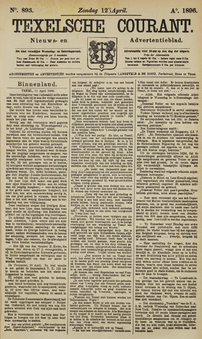 Texelsche Courant 1896-04-12