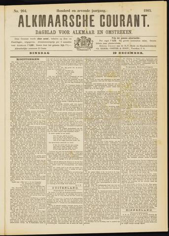 Alkmaarsche Courant 1905-12-19