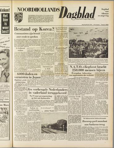 Noordhollands Dagblad : dagblad voor Alkmaar en omgeving 1953-07-20