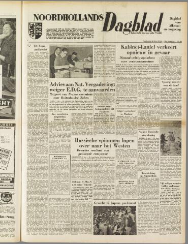 Noordhollands Dagblad : dagblad voor Alkmaar en omgeving 1954-06-10